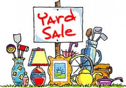 Donations Needed for Yard Sale